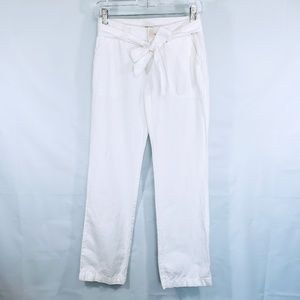 BANANA REPUBLIC LINEN PANTS SIZE 0 PETITE